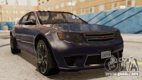 GTA 5 Cheval Fugitive IVF para GTA San Andreas