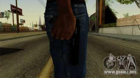 AP Pistol para GTA San Andreas tercera pantalla