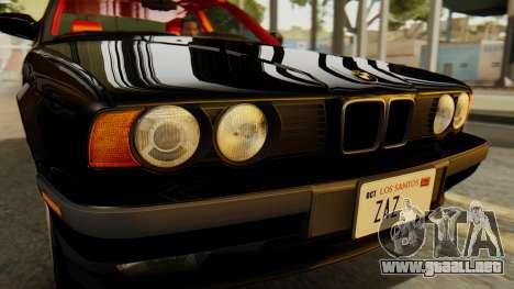 BMW 535i E34 1993 para la visión correcta GTA San Andreas
