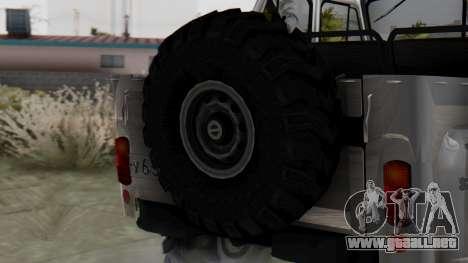 УАЗ 469 Ivan Braginsky para GTA San Andreas vista posterior izquierda