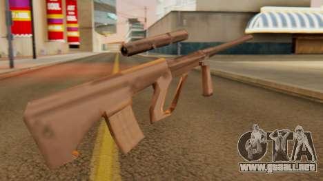 Steyr AUG from GTA VC Beta para GTA San Andreas segunda pantalla