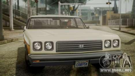 GTA 5 Dundreary Regina IVF para la visión correcta GTA San Andreas