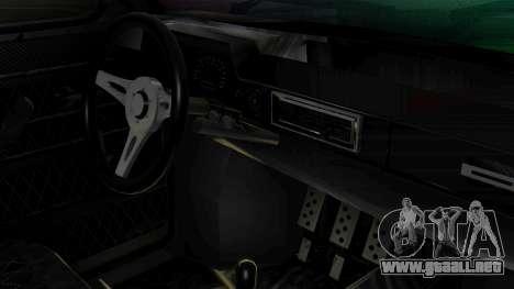 ZAZ 968M para la visión correcta GTA San Andreas