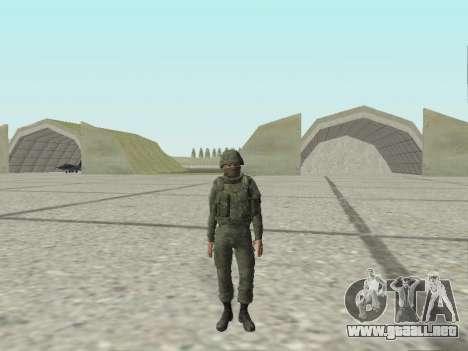 Pak combatientes de las tropas especiales del GR para GTA San Andreas undécima de pantalla