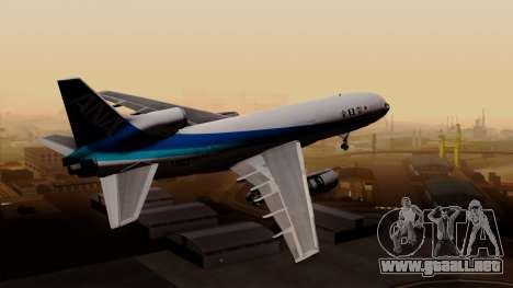 Lockheed L-1011 TriStar All Nippon Airways para GTA San Andreas left