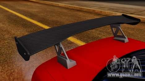 Nissan Skyline R34 Drift Monkey para visión interna GTA San Andreas