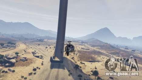 Empinada rampa para GTA 5