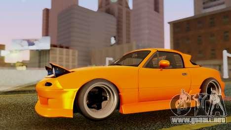 Mazda MX-5 BnSports para vista inferior GTA San Andreas