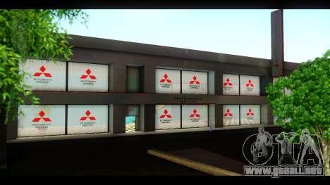 El Mitsubishi Motors Concesionario para GTA San Andreas