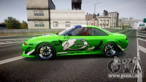 Nissan Silvia S14 JE Pistons para GTA 4 left