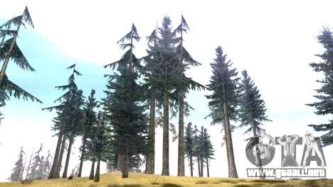 Vegetation Original Quality v3 para GTA San Andreas tercera pantalla