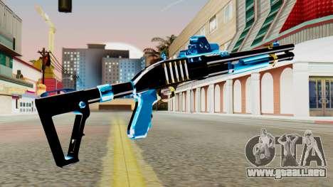 Fulmicotone Chromegun para GTA San Andreas segunda pantalla