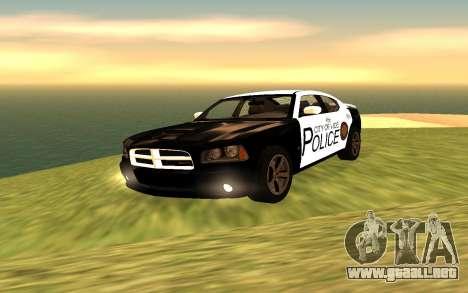 Dodge Charger Super Bee 2008 Vice City Police para GTA San Andreas