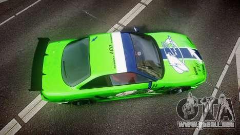 Nissan Silvia S14 JE Pistons para GTA 4 visión correcta