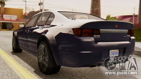 GTA 5 Cheval Fugitive IVF para GTA San Andreas left