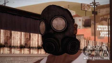 Mascara de Gas para GTA San Andreas tercera pantalla