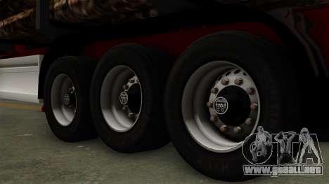 Trailer Fliegl v2 para GTA San Andreas vista posterior izquierda