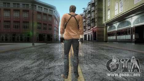 New Jhon Albert Wesker from Resident Evil para GTA San Andreas tercera pantalla