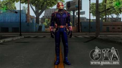 Ant-Man Black para GTA San Andreas segunda pantalla