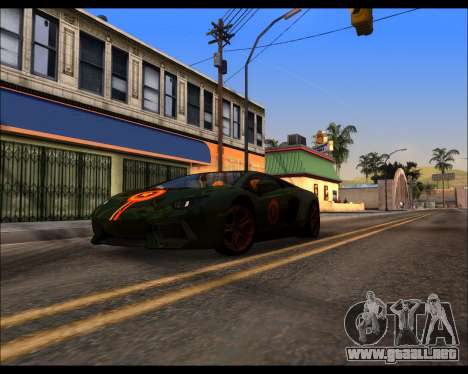 Project 0.1.4 (Medium/High PC) para GTA San Andreas octavo de pantalla