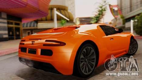 GTA 5 Adder Secondary Color para GTA San Andreas left