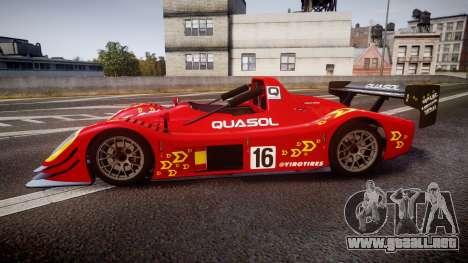 Radical SR8 RX 2011 [16] para GTA 4 left