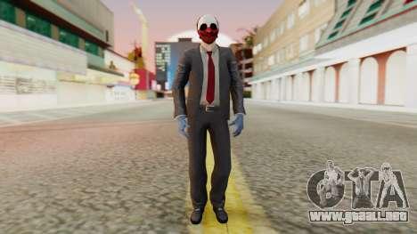 [PayDay2] Wolf para GTA San Andreas segunda pantalla