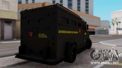GTA 5 Enforcer Indonesian Police Type 2 para GTA San Andreas left