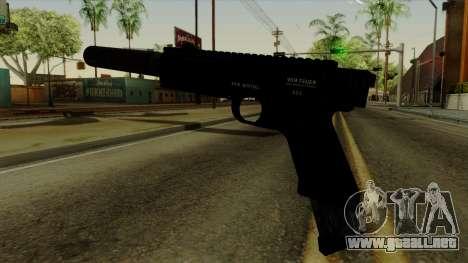 AP Pistol with Supressor para GTA San Andreas segunda pantalla