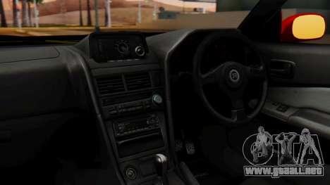 Nissan Skyline R34 Drift Monkey para la visión correcta GTA San Andreas