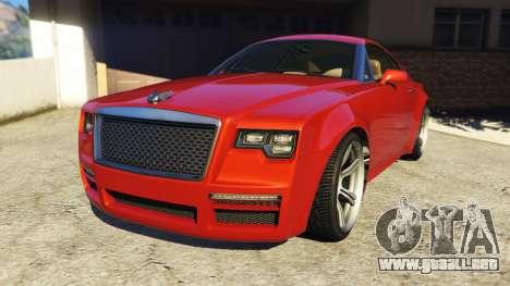 Enus Windsor Rolls Royce Wraith para GTA 5