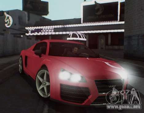 Herp ENB v1.6 para GTA San Andreas sucesivamente de pantalla