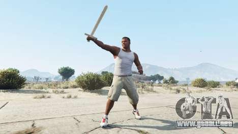 GTA 5 Espada Excalibur segunda captura de pantalla