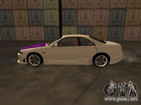 Nissan Skyline R33 Drift Monster Energy JDM para GTA San Andreas left