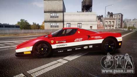 Ferrari Enzo 2002 [EPM] Scuderia Ferrari para GTA 4 left