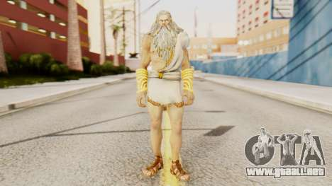 Zeus v2 God Of War 3 para GTA San Andreas segunda pantalla