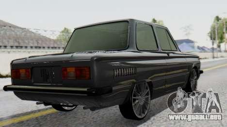 ZAZ 968M para GTA San Andreas left
