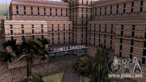 HQ LS Hospital Mipmap 16x para GTA San Andreas tercera pantalla