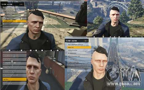 GTA 5 Native Trainer ENT cuarto captura de pantalla