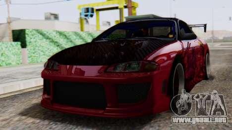 Mitsubishi Eclipse GSX 1999 Mugi Itasha para GTA San Andreas