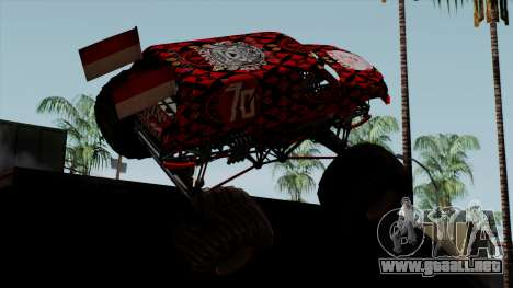 The Seventy Monster v2 para GTA San Andreas left