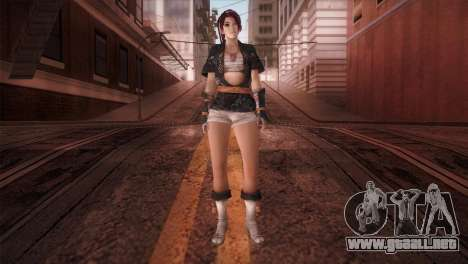 Momiji Kokoro DoA para GTA San Andreas segunda pantalla