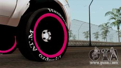 Toyota Hilux 2014 para GTA San Andreas vista posterior izquierda