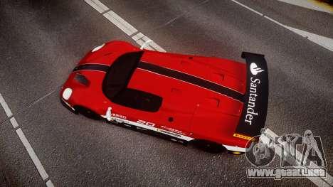 Ferrari F50 GT 1996 Scuderia Ferrari para GTA 4 visión correcta