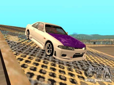 Nissan Skyline R33 Drift Monster Energy JDM para GTA San Andreas interior