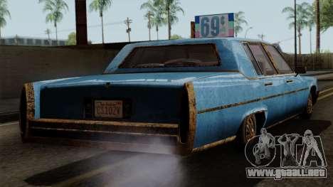 GTA 5 Albany Emperor Worn para GTA San Andreas left