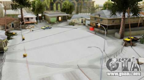 Winter Grove Street para GTA San Andreas