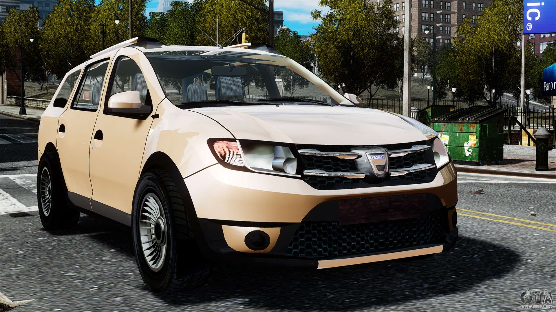 dacia logan mcv stepway 2014 para gta 4. Black Bedroom Furniture Sets. Home Design Ideas