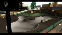 El Hospital y el Parque de skate