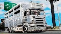 Scania R580 para GTA 4